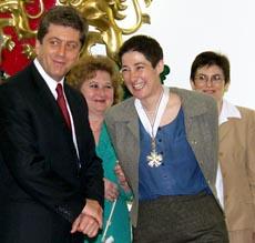 President Awards Marta Ruedas Stara Planina Order