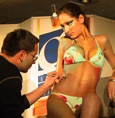 Bodyart Tickles Beauty Freaks in Sofia