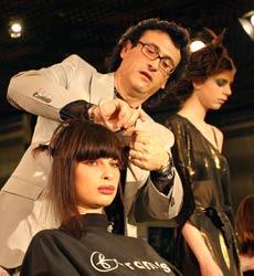 Sofia Amazed By World Famous Hairdressers