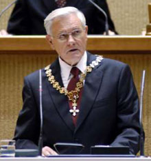 Lithuanian President Swears In