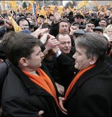 Ukraine Gripped by Poll Turmoil