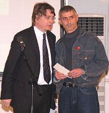 Kisyov Best Bulgarian Novelist of the Year