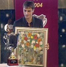Berbatov Named Bulgaria's Best Footballer