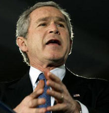 Bush Seeks USD 400 M to Reward Allies
