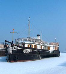 Bulgaria's Danube in Ice Grab