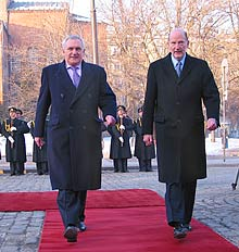 Ireland to Open Sofia Embassy by End 2005