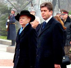 Bulgaria's President Heads for Latvia