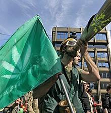 Bulgarians March for Marijuana Freedom