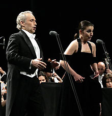 Carreras Enchants Sofia Audience