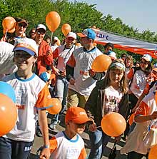 Bulgarians Walk against World Hunger