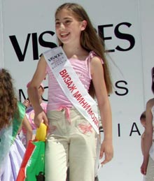 "Bulgarian Beauties Storm ""Mini Miss Europe 2005"""