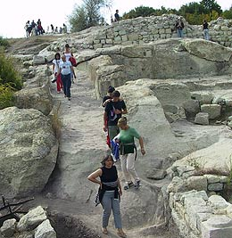 Church Pulpit Unearthed in Thracian Sanctuary of Perperikon