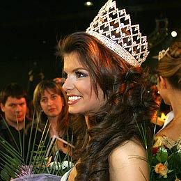 Brunette Athlete Wins Miss Bulgaria 2006