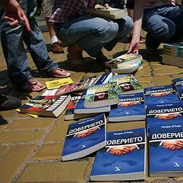 Bulgarian Publishers Rise Against VAT on Books