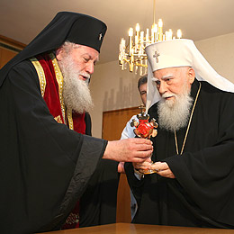 Bulgaria: Bulgarian Patriarch Honours St George Relics