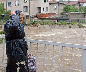 Bulgaria: Bulgarian River Overflows, Purifying Station Submerged
