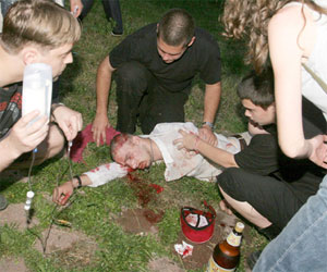 Bulgaria: Sofia Skins, Punks Engaged in Bloody Fight at The Exploited Concert