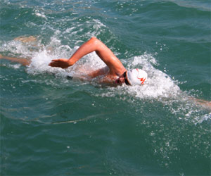 Bulgaria: Bulgarian Swimmer Stoychev Sets New English Channel Record