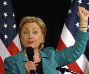 Clinton Threatens to Obliterate Iran if It Attacks Israel