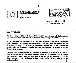 EC Letter Criticizing Bulgaria Cabinet Released with Five-Day Delay: EC Letter Criticizing Bulgaria Cabinet Released with Five-Day Delay