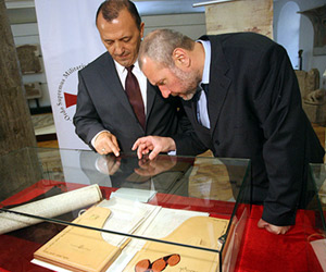 Bulgaria: Unique Book Dedicated to Trial against Templars on Display in Sofia