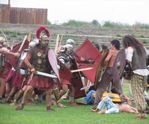 Ancient Rome Festival Recreates Legionnaires??™ Fights in Bulgaria??™s Svishtov: Ancient Rome Festival Recreates Legionnaires' Fights in Bulgaria's Svishtov