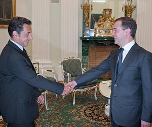 Bulgaria Medvedev, Sarkozy Craft Six Principles to Resolve South Ossetia Conflict: Medvedev, Sarkozy Craft Six Principles to Resolve South Ossetia Conflict