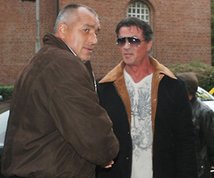 Sofia Mayor Meets His Idol Sylvester Stallone: Sofia Mayor Meets His Idol Sylvester Stallone