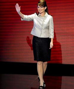 Palin's Revamped Wardrobe Hurts Her Hockey Mom Image: Palin's Revamped Wardrobe Hurts Her Hockey Mom Image