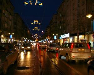 Bulgaria Capital Sofia Christmas Lights Begin Shining On