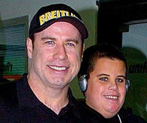 John Travolta Son 2014