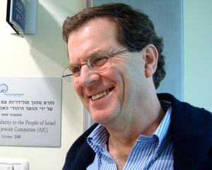 Bulgaria American Jewish Committee Head David Harris: Peace Depends on Gaza Residents: American Jewish Committee Head David Harris: Peace Depends on Gaza Residents
