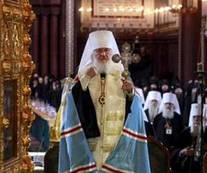 Metropolitan Kiril Officially Enthroned 16th Russian Patriarch