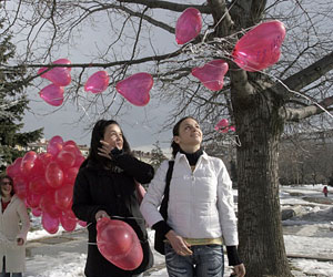 Millions around World Celebrate Saint Valentine??™s Day: Millions around World Celebrate Saint Valentine's Day