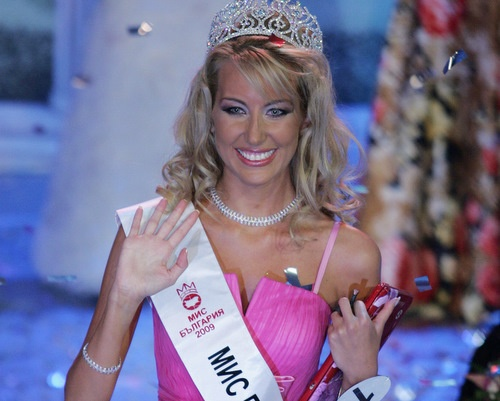 Bulgaria Blonde Beauty Petrova Wins Miss Bulgaria 2009: Blonde Beauty Antonia Petrova Wins Miss Bulgaria 2009