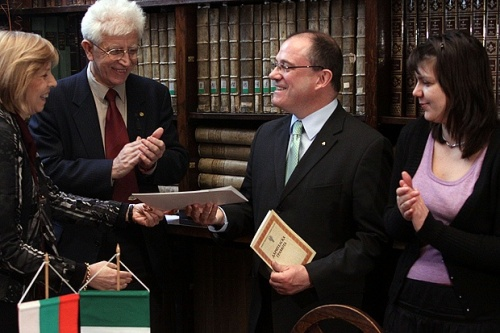 Ireland Donates Valuable Gospel Book to Sofia University: Ireland Donates Valuable Gospel Book to Sofia University