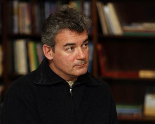 "Bulgaria Iliya Troyanov, Ilija Trojanow, ""The World Is Big and Salvation Lurks around the Corner"", w: German-Bulgarian Writer Iliya Troyanov (Ilija Trojanow)"