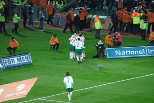 Bulgaria Ireland - Bulgaria World Cup Qualified Ends in 1:1 Draw Stiliyan Petrov Richard Dunne: Ireland - Bulgaria World Cup Qualifier Ends in 1:1 Draw