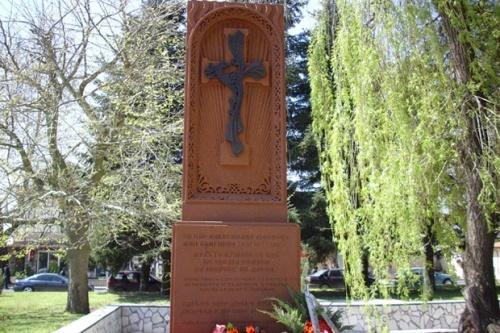 Armenian Monument Opened in Bulgaria's General Toshevo: Armenian Monument Opened in Bulgaria's General Toshevo