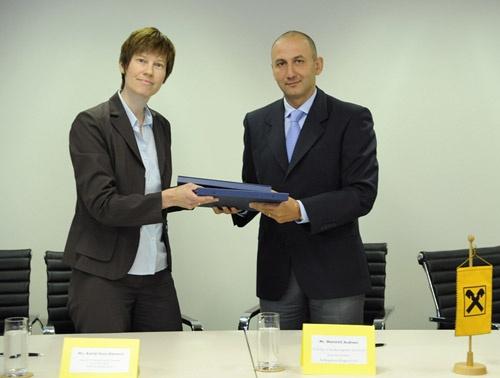 Bulgaria Raiffeisen Kfw Sign Eur 20 M Credit Line Raiffeisenbank