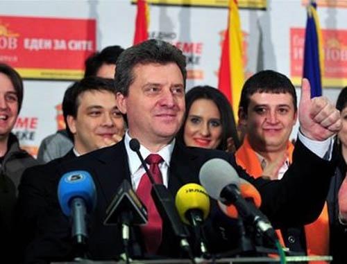 Bulgaria: Macedonia Inaugurates New President Gjorgje Ivanov