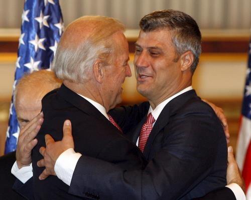 Bulgaria: Kosovo Awards US Vice-President Biden Golden Medal of Freedom