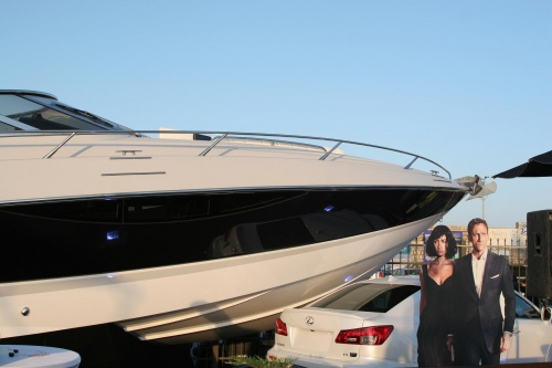 Sunseeker Superhawk 43 Quantum of Solace, James Bond's yacht, has been shown ...