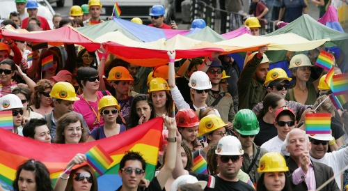 Bulgaria: 300 Rally with Own Guards for Bulgaria Second Gay Parade