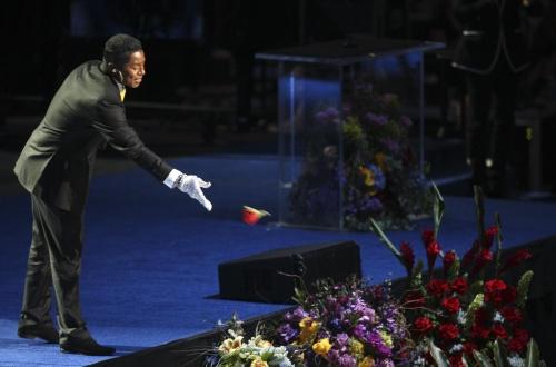 "Bulgaria: ""Heal the World"", Michael Jackson Daughter Close Staples Center Memorial"
