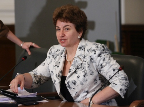 Ex Bulgaria Deputy PM Presents EU Fund Coin to New Government: Ex Bulgaria Deputy PM Presents EU Fund Coin to New Government
