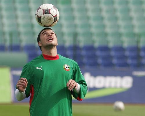 Bulgaria: Bulgaria's Valeri Bojinov: Italy Don't Play Like World Champions