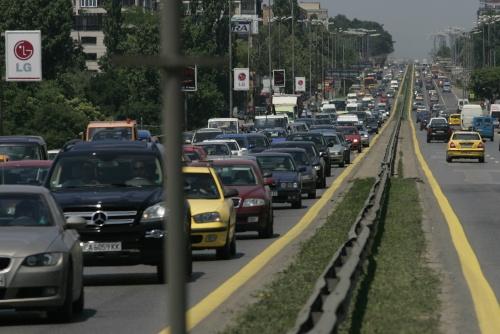 Bulgaria: Busiest Sofia Boulevard Sees 6 000 Cars per Hour