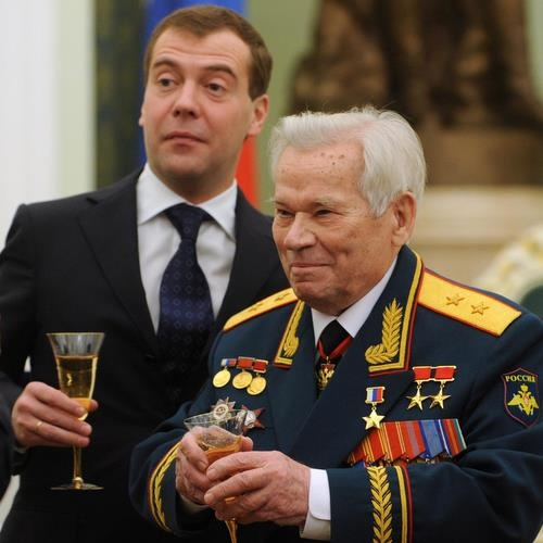 AK-47 Inventor Mihail Kalashnikov Celebrates Turning 90: AK-47 Inventor Mihail Kalashnikov Celebrates Turning 90
