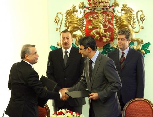 Bulgaria: Azerbaijan President in Bulgaria: Nabucco Has Long Way to Go